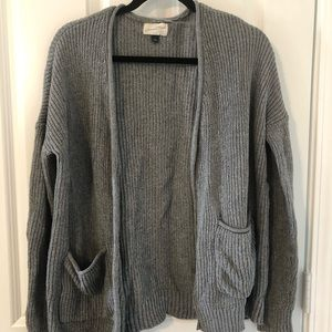Universal Thread gray cardigan